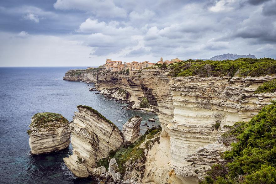 Bonnifacio, Corse, Francja boredpanda.com