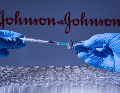 Johnson & Johnson chce szczepić drugą dawką. Skuteczność preparatu...