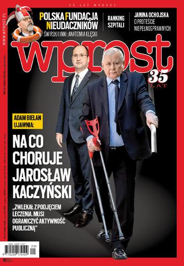 Okładka tygodnika Wprost nr 20/2018 (1835)