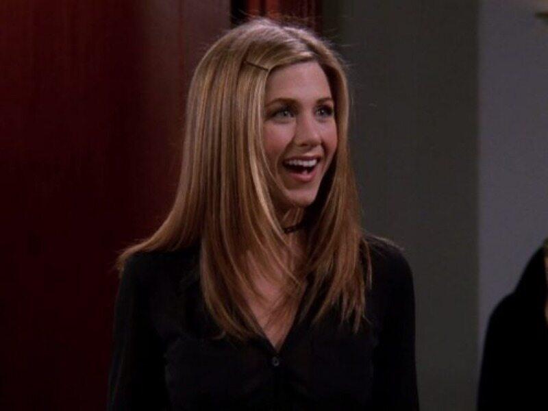 """Jennifer Aniston w serialu """"Przyjaciele"""""""