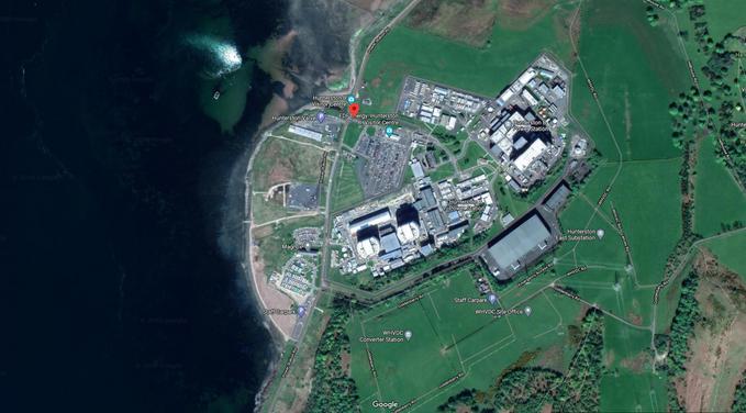 Elektrownia atomowa wHunterston