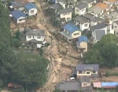 Lawina błotna w Hiroszimie. Kilkudziesięciu zabitych i zaginionych