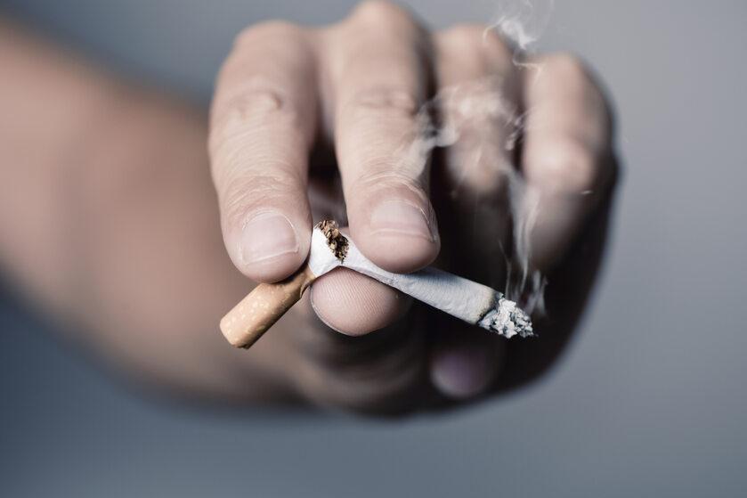Złamany papieros