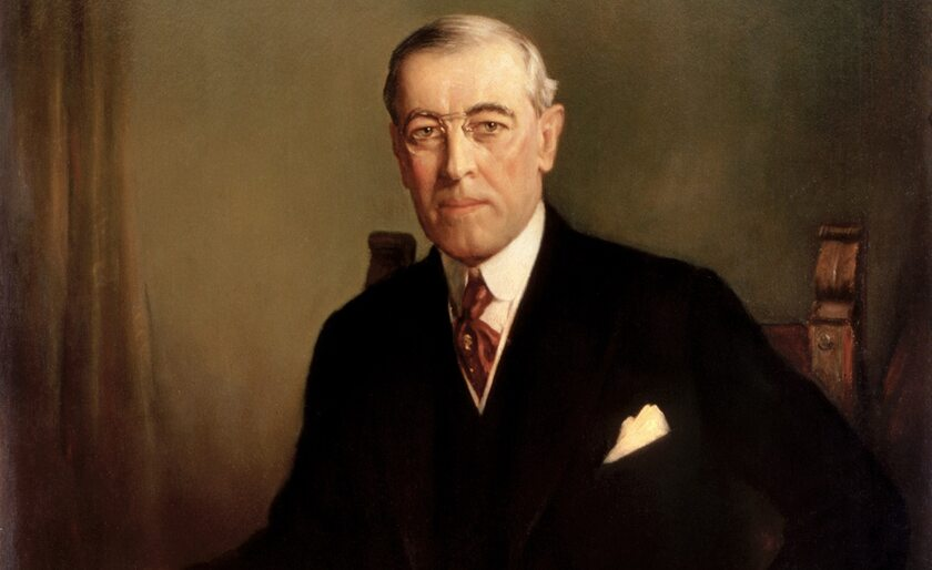 Prezydent Woodrow Wilson