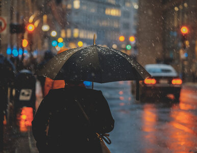 Prognoza pogody. Pochmurna niedziela z deszczem i mżawkami