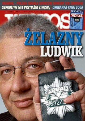 Okładka tygodnika Wprost nr 18/2006 (1221)