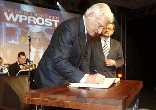 Człowiek Roku 2009 - Jerzy Buzek i Stanisław Janecki
