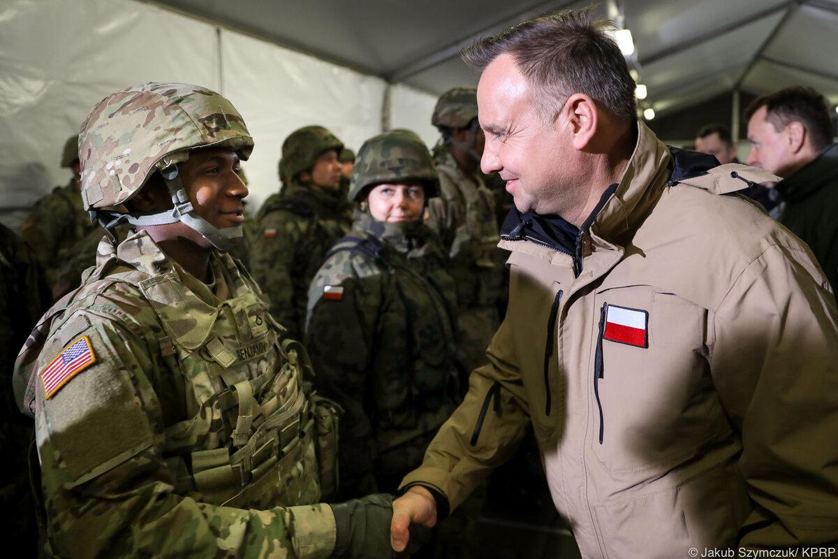 Prezydencka wizyta w Żaganiu