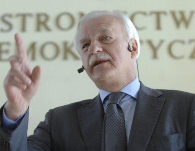 Olechowski: to nie była debata, to był casting na bliźniaka Tuska