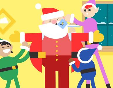 Gdzie jest Święty Mikołaj? Już leci! Możesz go śledzić na specjalnej mapie