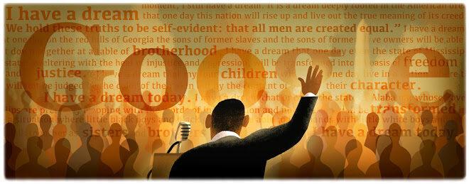 """50 rocznica historycznej przemowy M.L. Kinga """"I Have a Dream"""" (""""Mam marzenie"""")"""