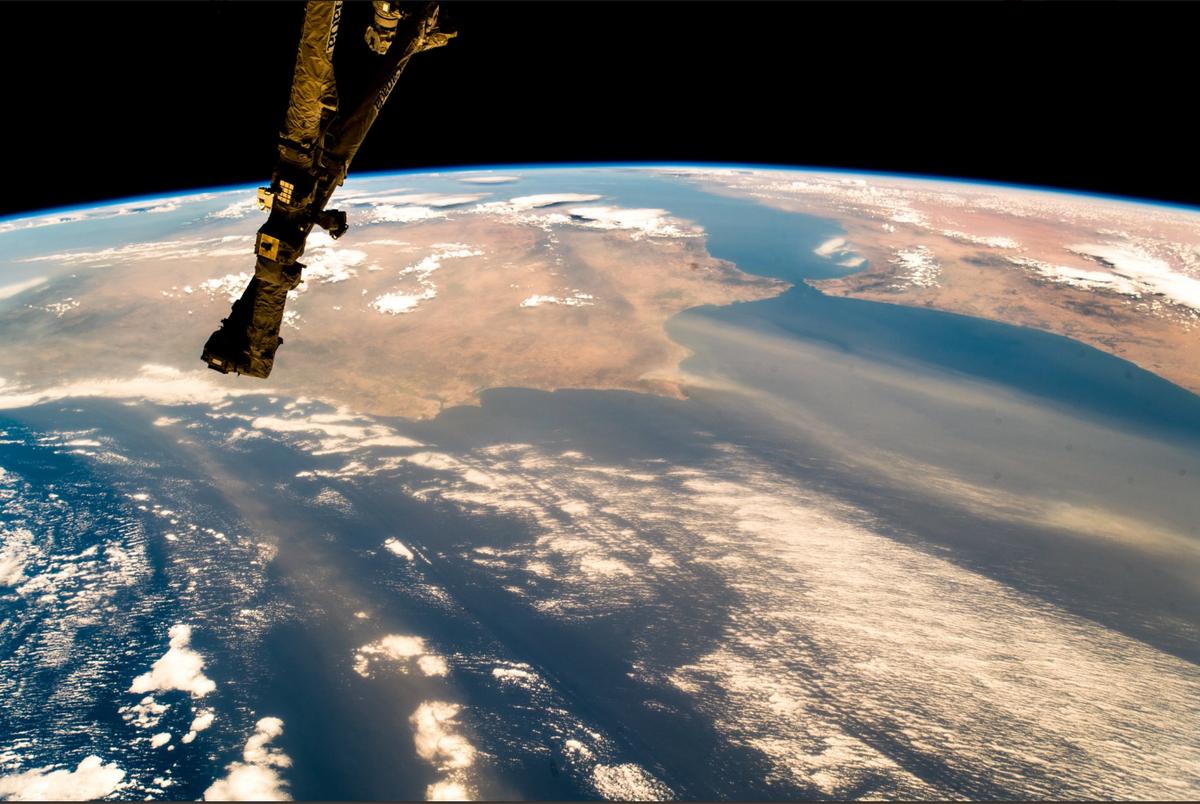 Portugalia widziana z kosmosu
