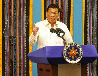 """Prezydent Filipin ostrzega niezaszczepionych. """"Nie mam skrupułów"""""""