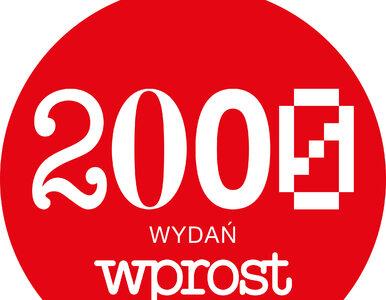 """2000. numer tygodnika """"Wprost"""". """"To kawał historii Polski"""""""