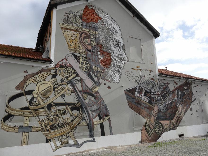 Lizbona, Portugalia fot. boredpanda.com