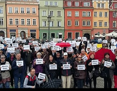 Kobiety po raz kolejny wyszły na ulice. Czarne Protesty w wielu polskich...
