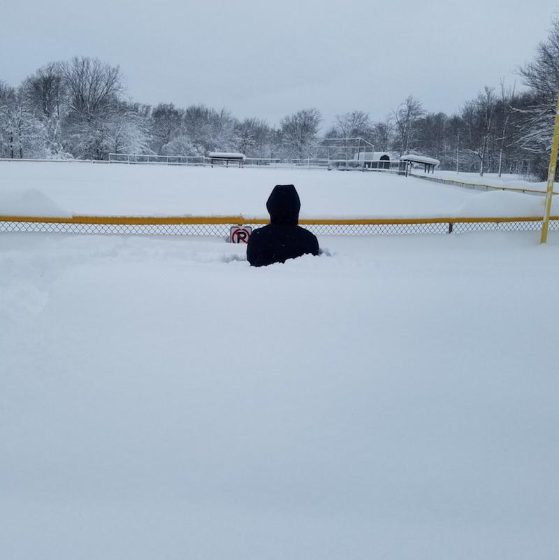 Rekordowe opady śniegu w Pensylwanii