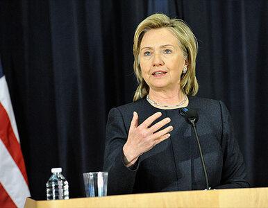 Clinton straszy Iran wojną