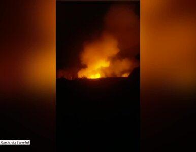 Erupcja wulkanu na Hawajach. Jest nagranie