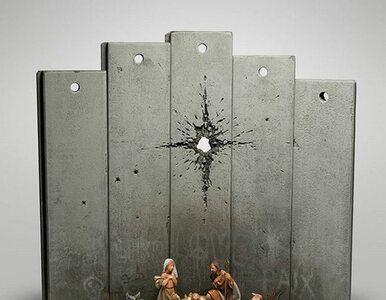 """Zamiast gwiazdy – """"Blizna Betlejemska"""". Banksy znów ma coś do powiedzenia"""