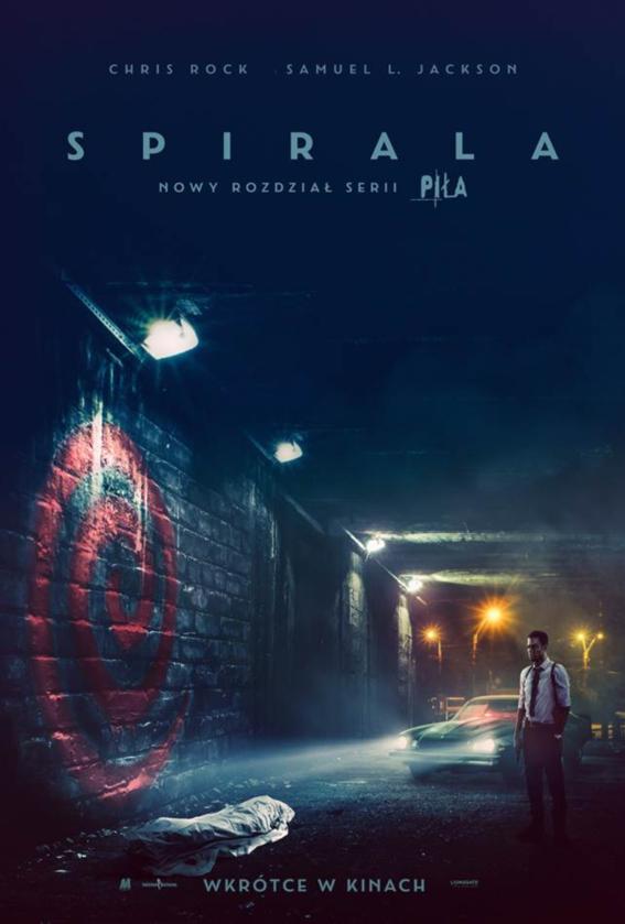 """Plakat filmu """"Spirala: Nowy rozdział serii Piła"""" (2021)"""