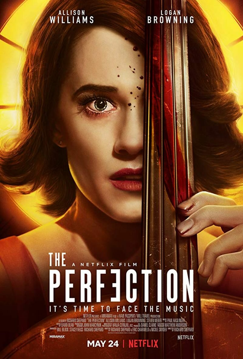 """Plakat filmu """"Perfekcja"""""""