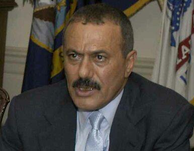 Przełom w Jemenie? Prezydent zgadza się na oddanie władzy