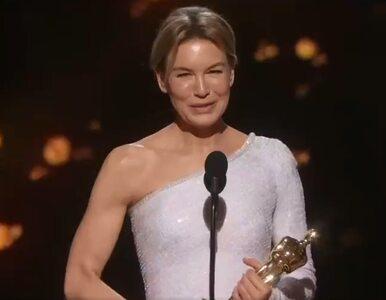 """Renee Zellweger z nagrodą Akademii za rolę w """"Judy"""". Aktorka zaapelowała..."""