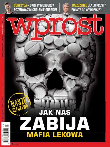 Okładka tygodnika Wprost nr 47/2018 (1862)
