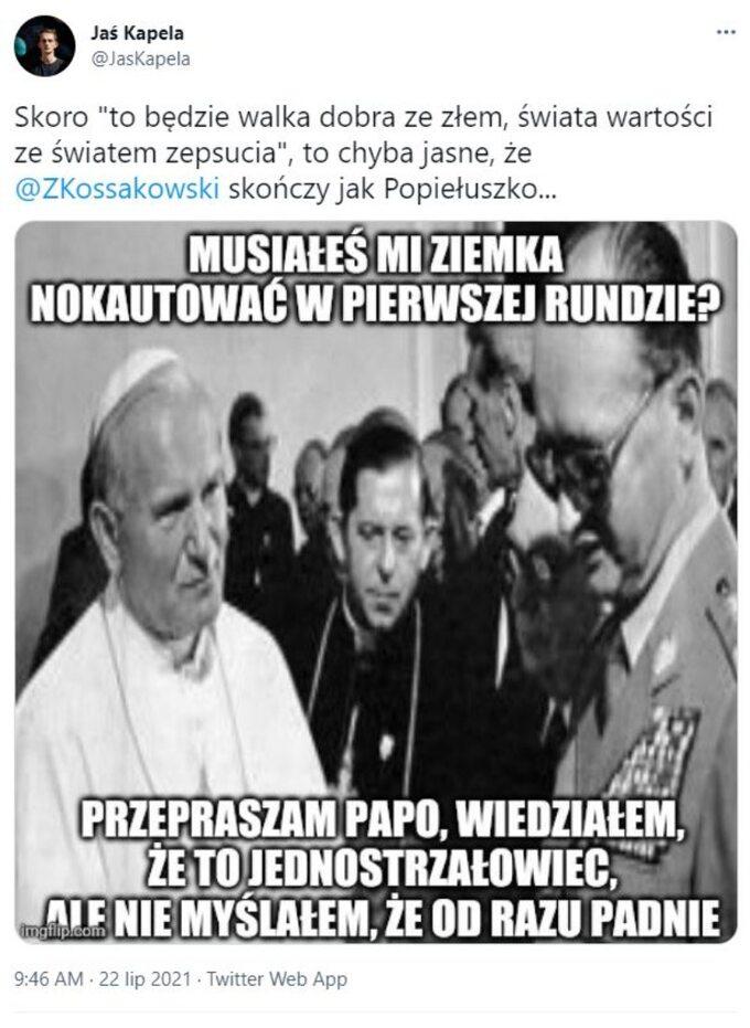 Tweet Jasia Kapeli