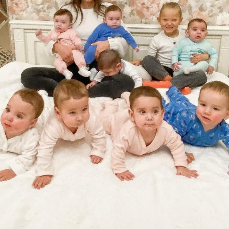 Christina Ozturk i jej dzieci
