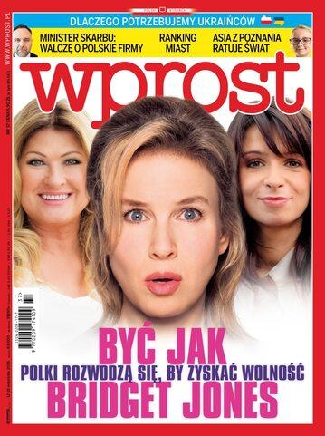 Okładka tygodnika Wprost nr 37/2016 (1753)