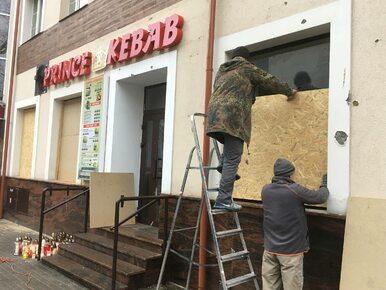Zabójstwo przed barem z kebabem w Ełku. Świadek zbiegł w trakcie wizji...