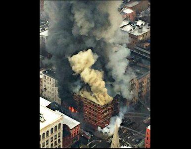 Eksplozja na Manhattanie. 250 strażaków na miejscu