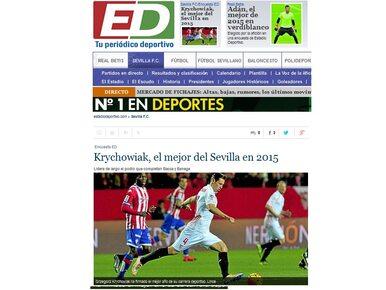 Krychowiak piłkarzem roku w Sevilli. Wybierali kibice