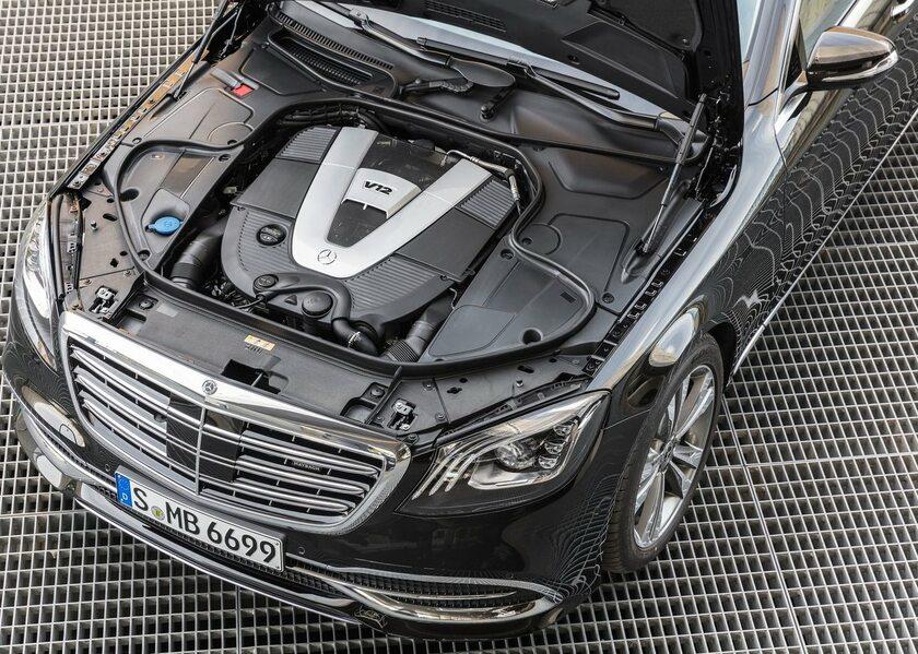 Silnik V12 pozostanie w nowej Klasie S
