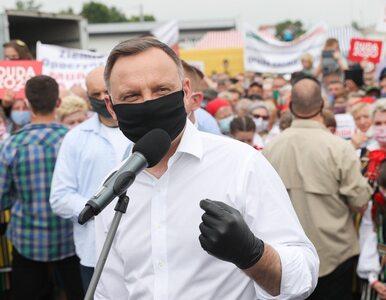 """Andrzej Duda zachęcał do pójścia na wybory. """"Namawiajcie swoje rodziny i..."""