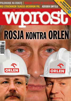 Okładka tygodnika Wprost nr 17/2004 (1117)