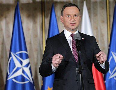 Andrzej Duda na szczycie NATO: Nie otaczają nas wrogowie, otaczają nas...