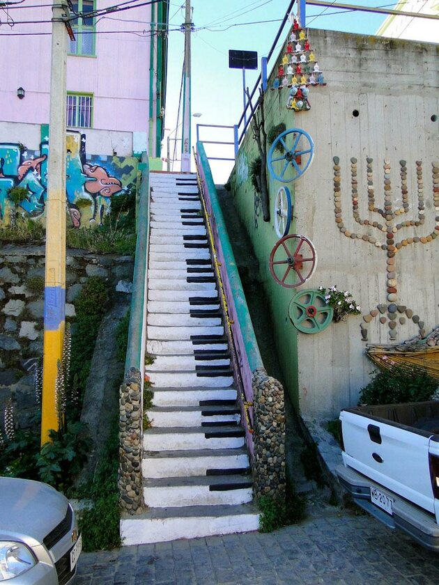 Valparaíso, Chile(fot. Jean-Baptiste Yunis)