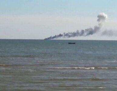 Atak na ukraińską straż przybrzeżną w Morzu Azowskim