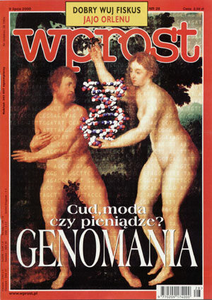 Okładka tygodnika Wprost nr 28/2000 (919)