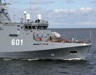 Niszczyciel min na wodach Zatoki Gdańskiej. To kolejny etap prób morskich