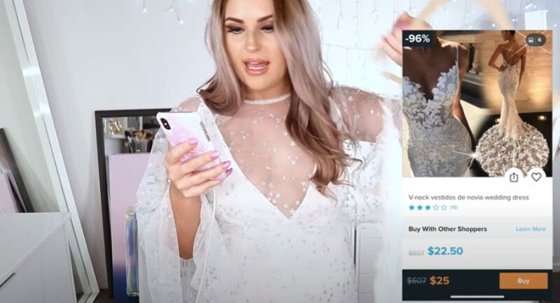 Shannon w sukience za 25 dolarów