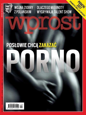 Okładka tygodnika Wprost nr 49/2016 (1765)