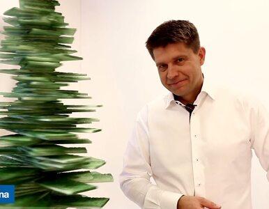 Nowoczesne życzenia świąteczne od Ryszarda Petru