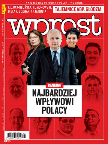 Okładka tygodnika Wprost nr 44/2019 (1909)