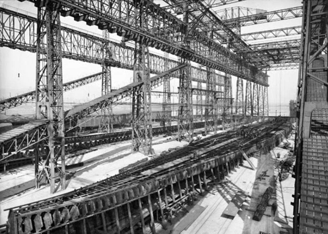 Titanic, budowa