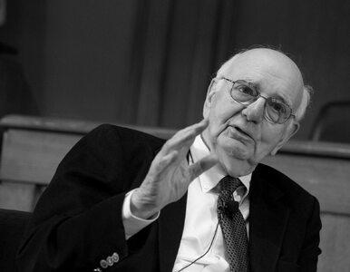 """Paul Volcker nie żyje. Był nazywany """"pogromcą inflacji"""""""