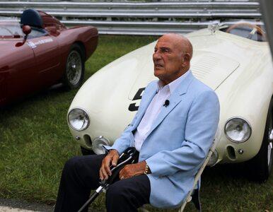 Zmarł legendarny kierowca. Sir Stirling Moss miał 90 lat